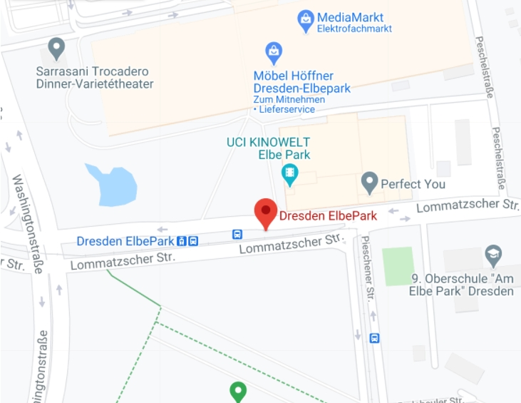 Google Plan Elbepark