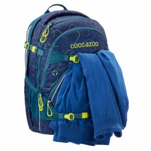 "coocazoo Rucksack ""ScaleRale"", Laserbeam Blue"