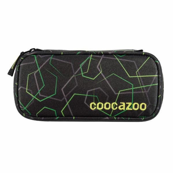 "coocazoo Pencil Denzel (Schlamperetui) ""Scale Rale"" Laserbeam black"