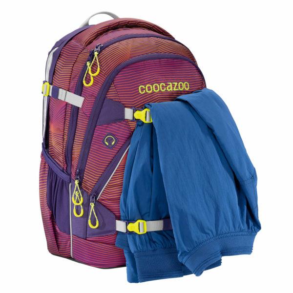 "coocazoo Rucksack ""ScaleRale"", Soniclights Purple, Vorderseite 2_188153"