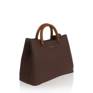Top Handle Bag Inyati Inita, chocolate