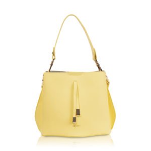 Bucket bag Cleo lemon sorbet