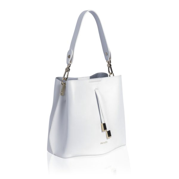 Bucketbag Cleo white