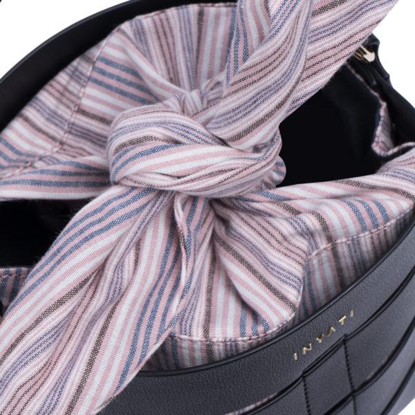 Mini bucketbag black
