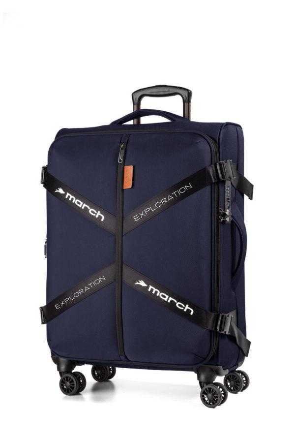 Koffer softshell Exploration, dark blue