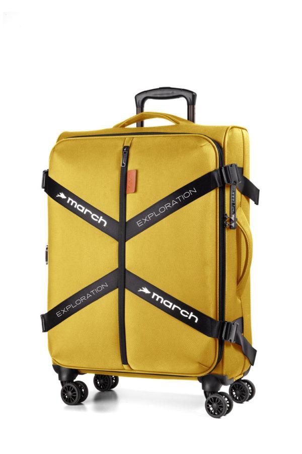 Koffer softshell, Exploration golden-honey