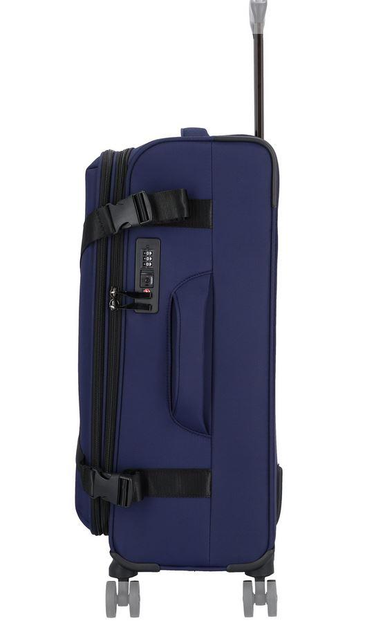 Koffer softshell, Exploration darkblue