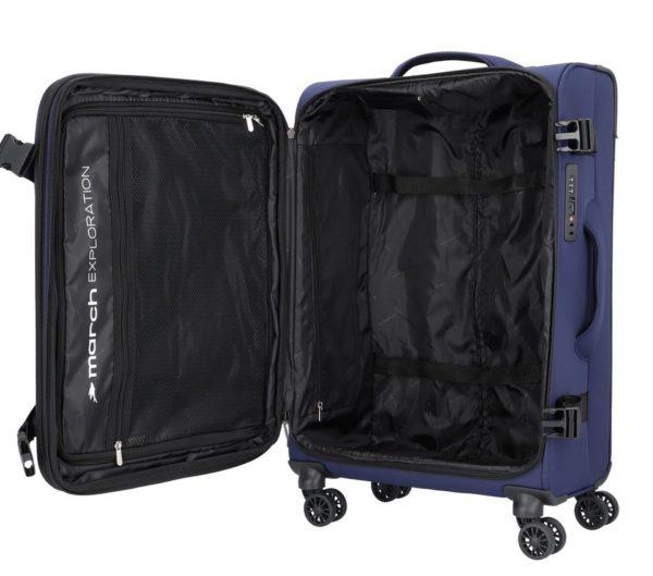 Koffer softshell, Exploration