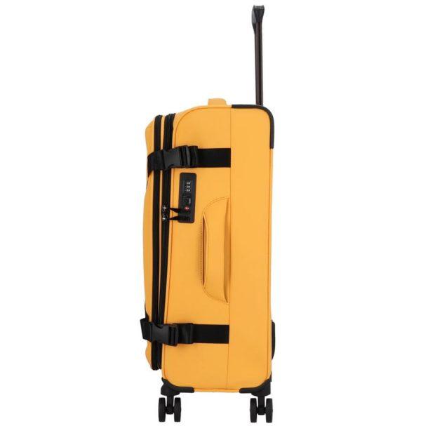 Koffer softshell Exploration golden-honey