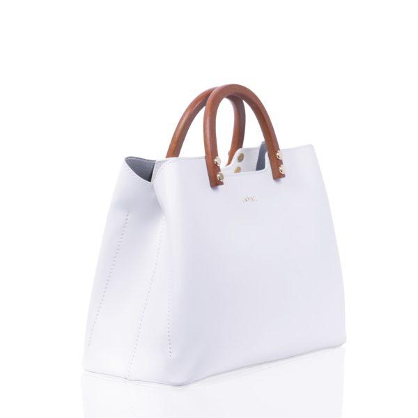 Top Handle bag Inita white