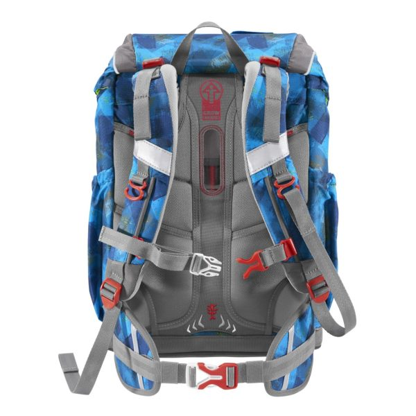 """Step by Step GIANT Rucksack """"City Cops"""" back"""
