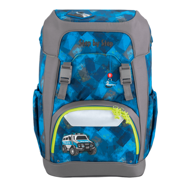 """Step by Step GIANT Rucksack """"City Cops"""" front"""