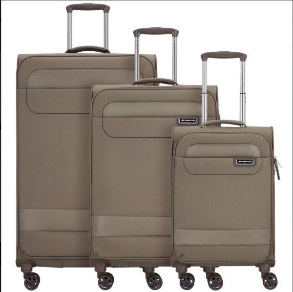 3-teiliges Kofferset TOURER, Farbbeispiel kashmir