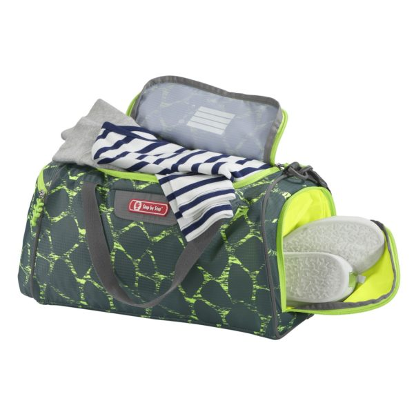 """Sporttasche Step by Step Giant """"Dino Life"""", green-yellow"""