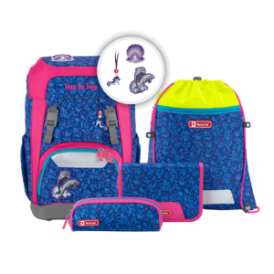 "Step by Step GIANT Schulrucksack-Set ""Happy Dolphins"""