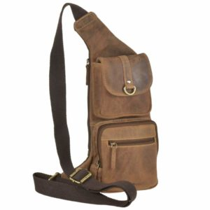 crossover-bag leder antik