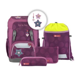 "Step by Step GIANT Schulrucksack-Set ""Glamour Star"""