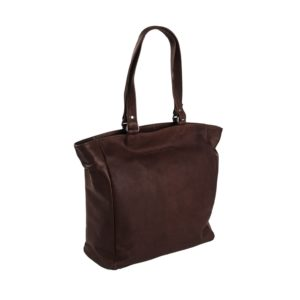 Leder Shopper Berlin Chesterfield brown